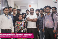 2D Animation and Gaming Tech Seminar @ LV PRASAD FILM & TV Academy