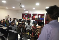 Placement Drive Happened in Image Adyar